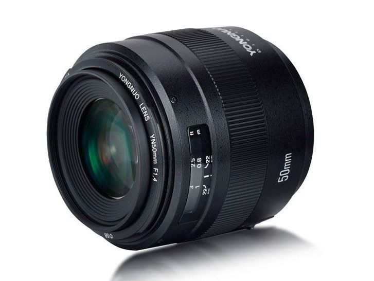 Yongnuo onthult 50 f/1.4 II nieuwe lens