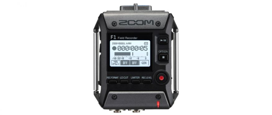 zoom f1-sp microfoon voor film, video