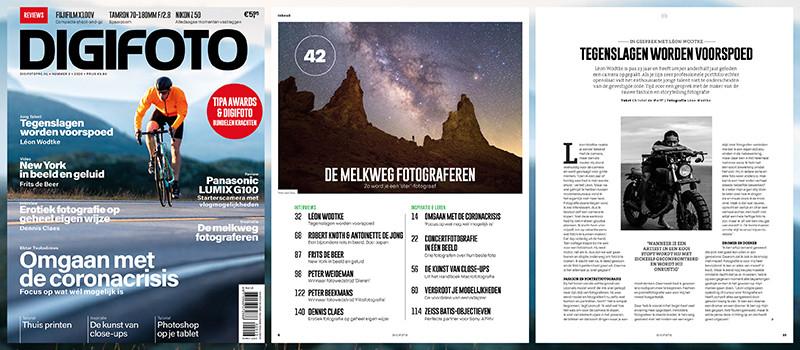 De oplettende (en minder oplettende) lezer had het waarschijnlijk meteen door. DIGIFOTO Pro en digifoto Starter zijn nu samen een dubbeldikke editie van DIGIFOTO magazine, is ideaal leesvoer voor op vakantie dus.