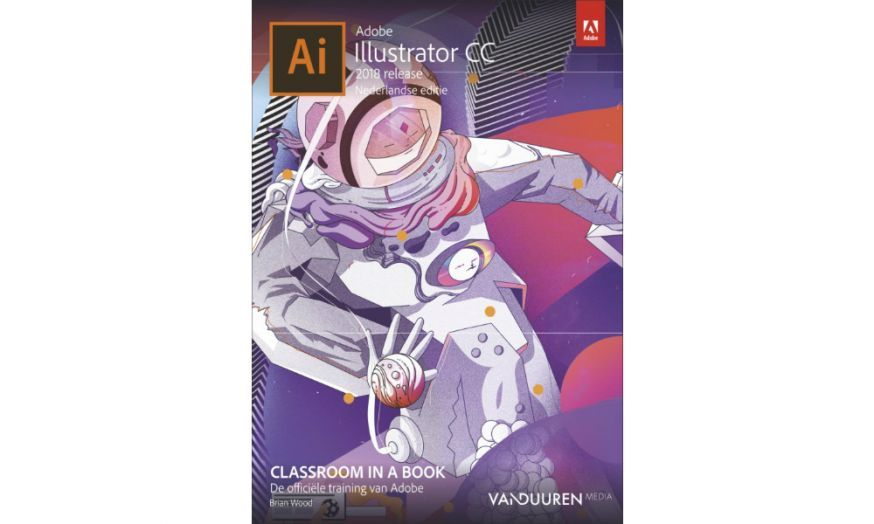 van duuren media classroom in a book adobe illustrator cc