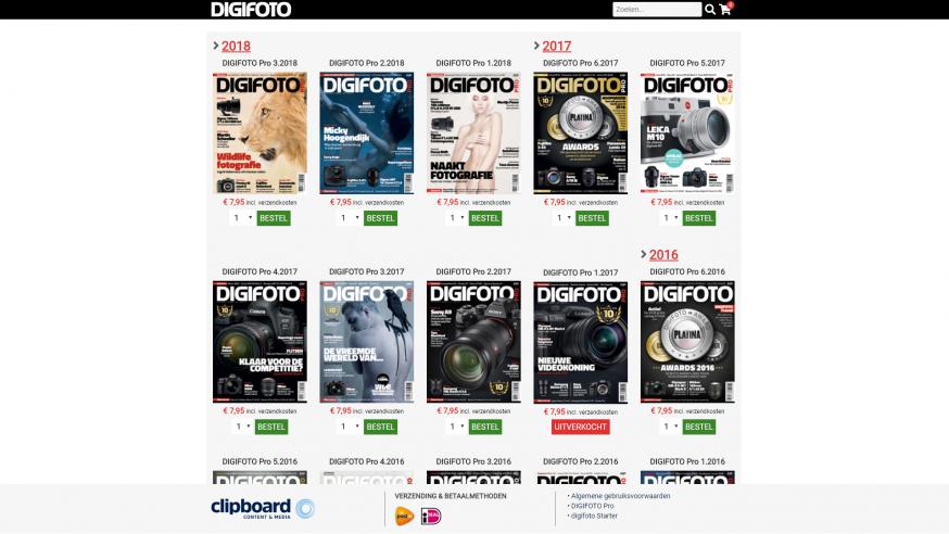 digifoto pro webshop magazines nabestellen