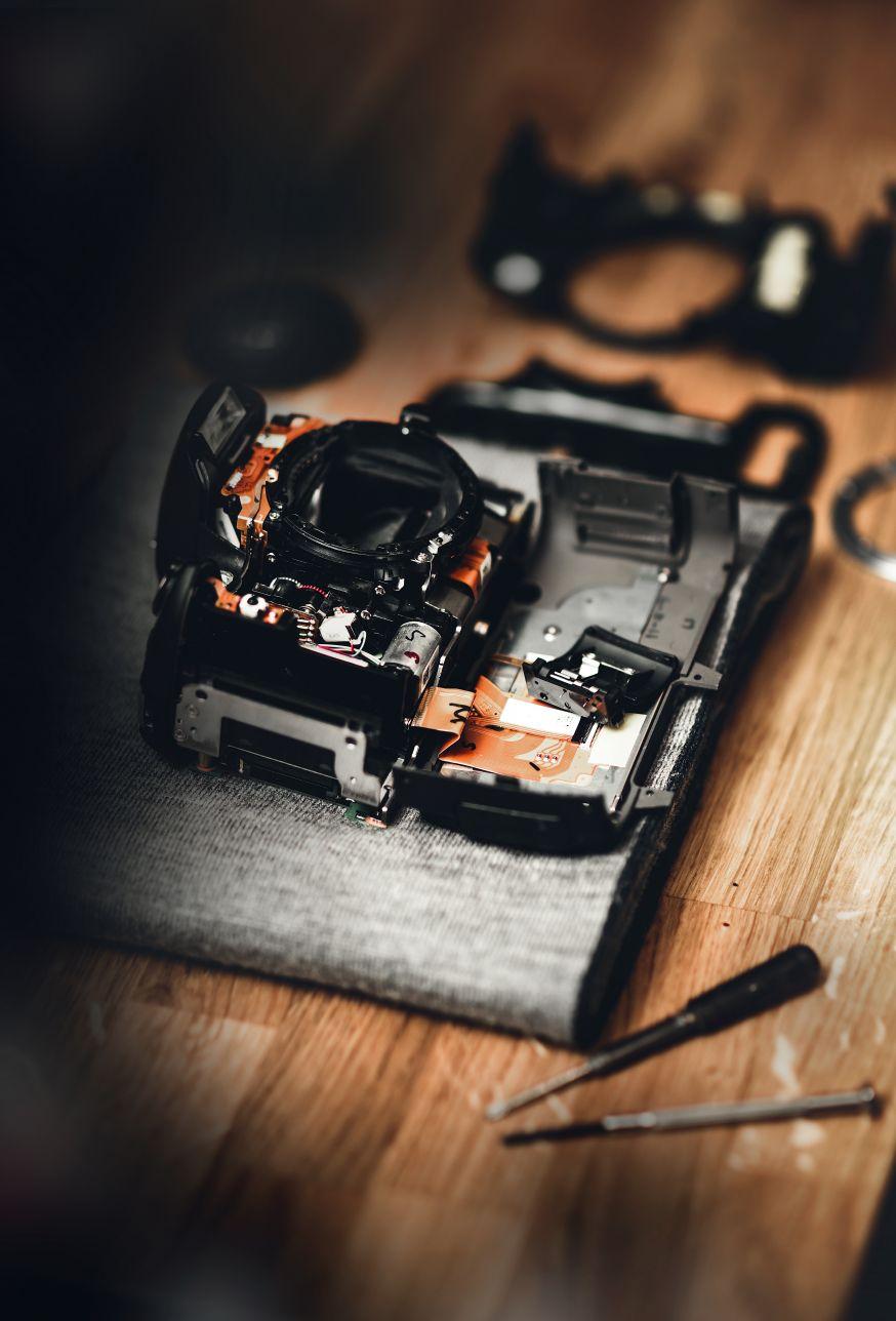 Refurbished camera