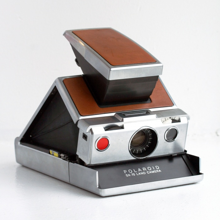 Retro - de eerste Polaroid camera