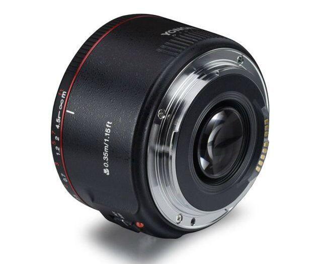 Yongnuo introduceert 50mm f/1.8 II lens met 'super Bokeh effect'