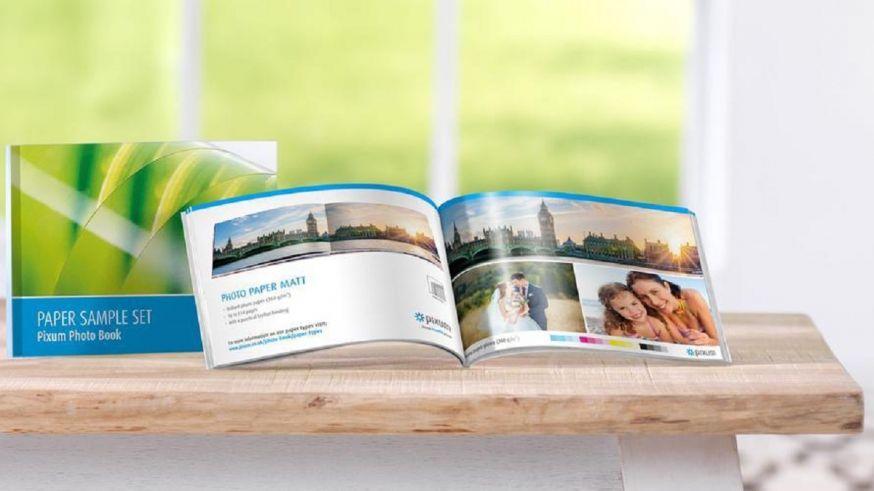 pixum papierproefset fotoboek