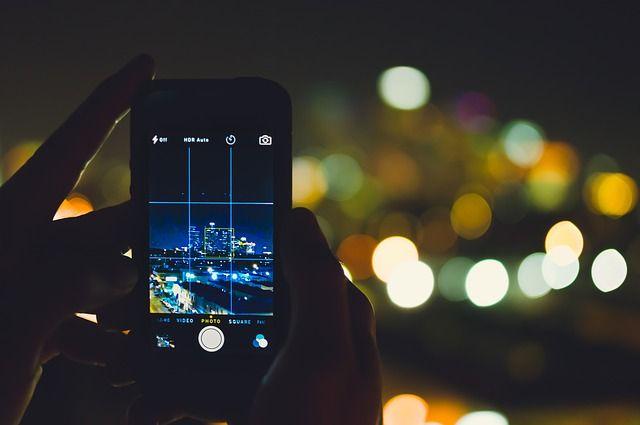 foto's met telefoon
