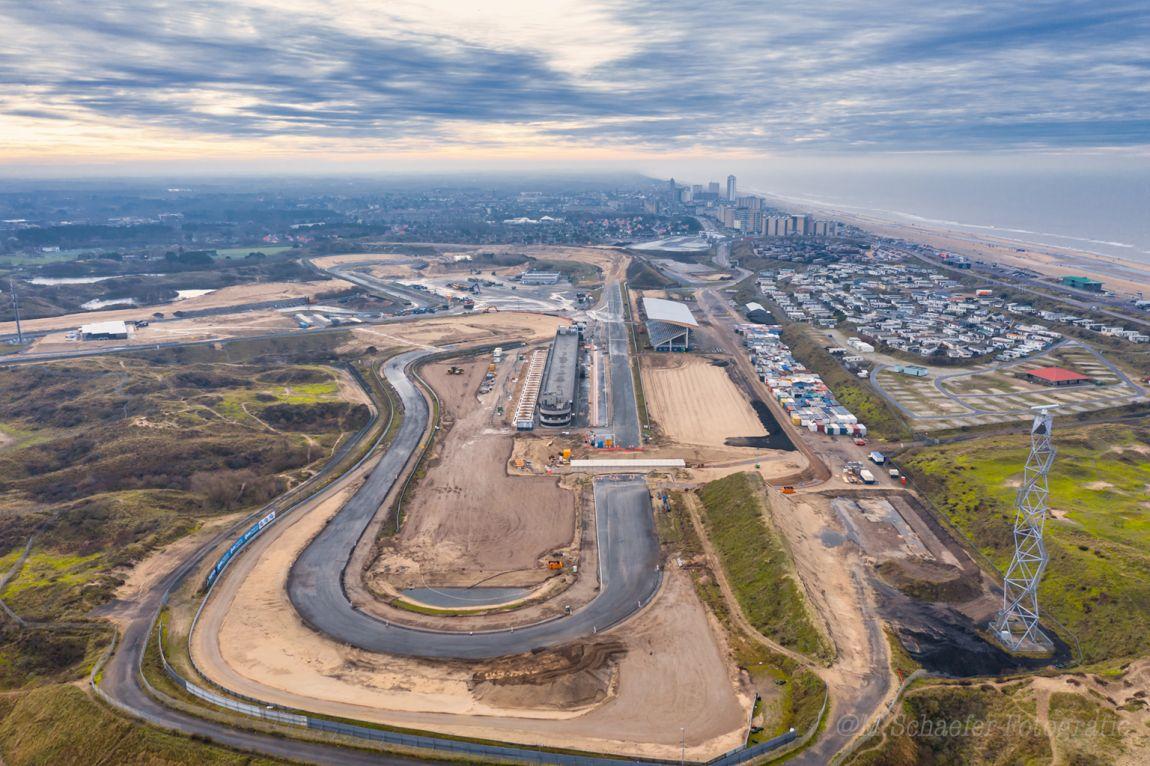 Circuit Van Zandvoort Met De Drone Digifoto Pro