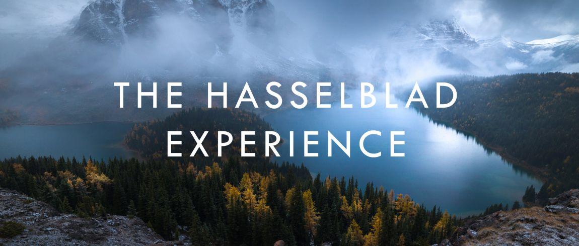 Ervaar fotografie als nooit tevoren tijdens de Hasselblad Experience