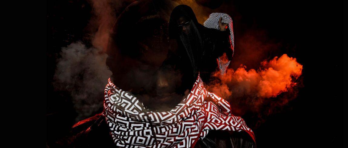 Sjaal maakt je onzichtbaar bij flitslicht