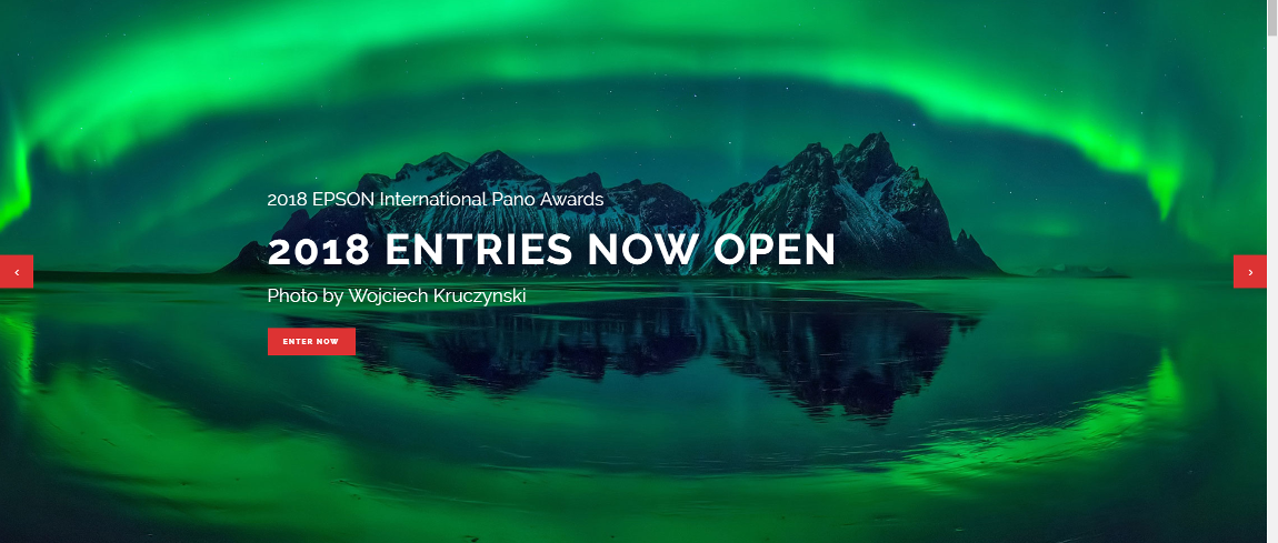 Negende editie van de EPSON International Pano Awards