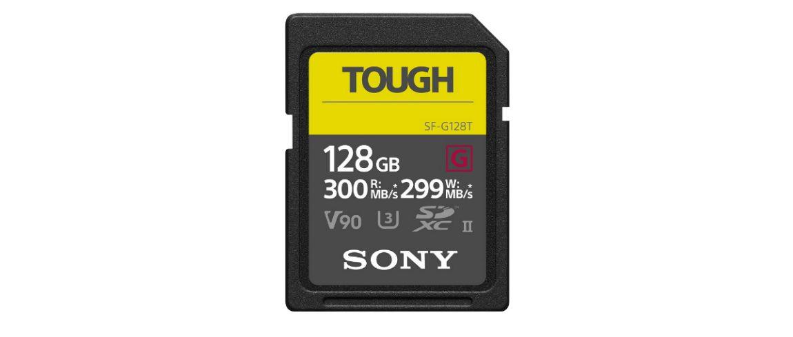 snelle sd kaart Sony lanceert 'Tough', zeer robuuste en snelle SD kaart | DIGIFOTO Pro