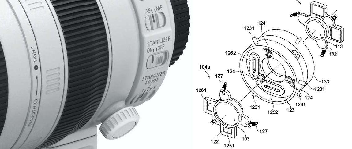 Canon vraagt patent aan op dubbele beeldstabilisatie