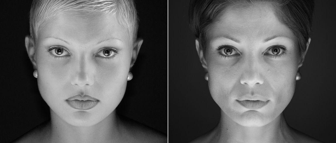 Modellen 14 jaar later opnieuw gefotografeerd