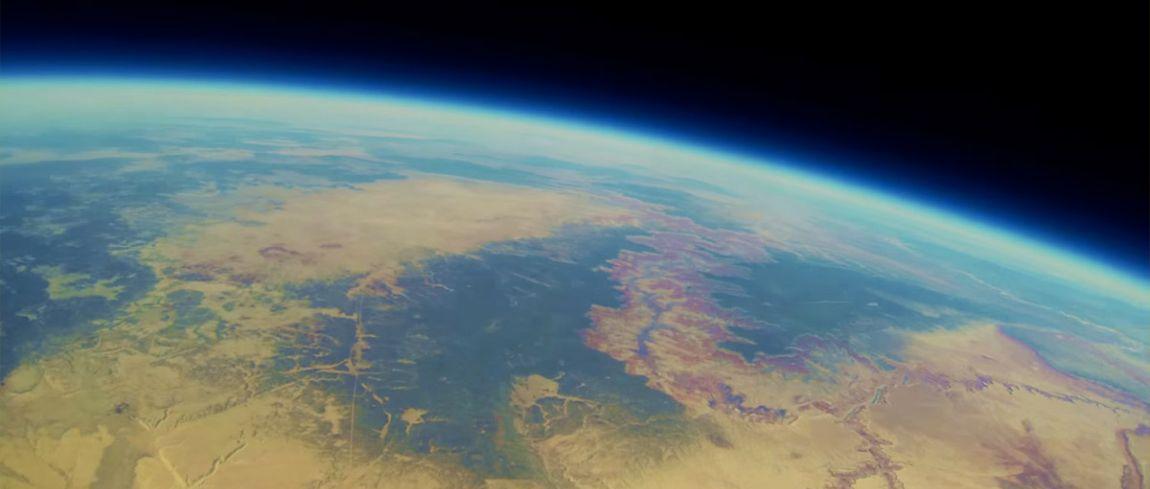 GoPro in de ruimte