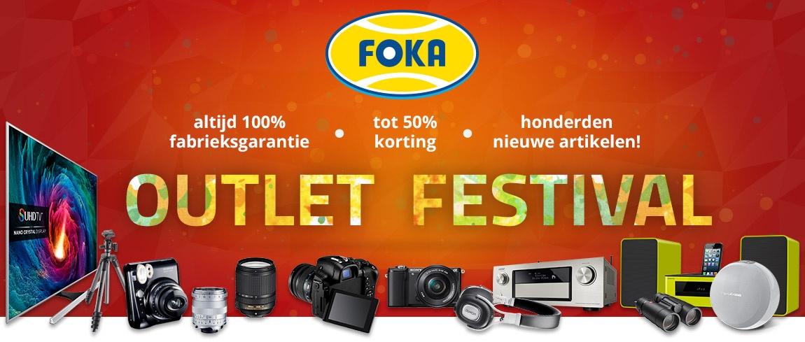 Nieuw: Foka Outlet Festival