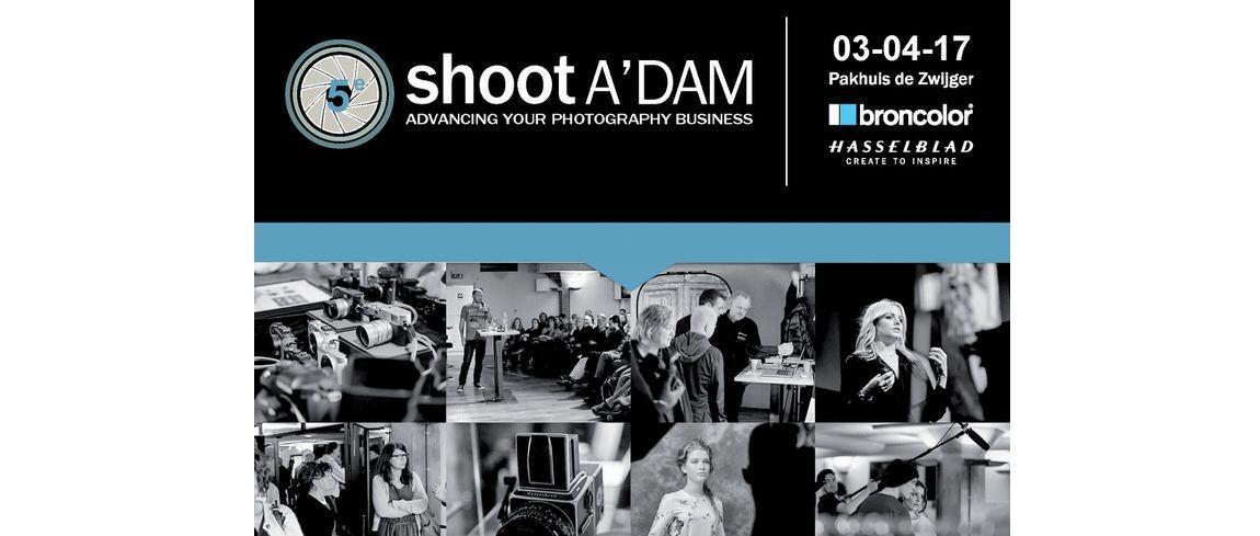 shoot A'DAM 2017: 3 april aanstaande