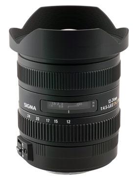 Sigma 12-24mm II
